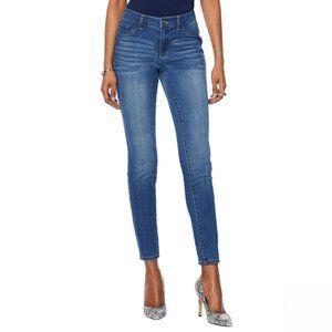NWT G by Giuliana Denim Skinny Jeans 16 Midtone